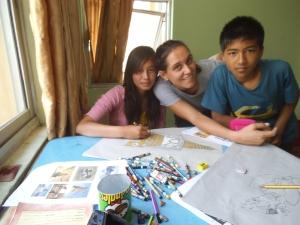 Dawa Pema, io e Rohit